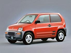 Honda Z: Pohon všech kol a motor uprostřed ve zvláštním minivozítku. A kapela ZZ Top