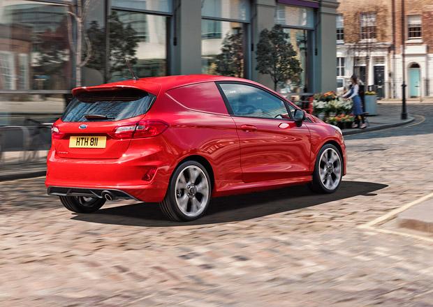 Ford Fiesta přichází v další verzi. Nákladní! Se sportovním stylem...