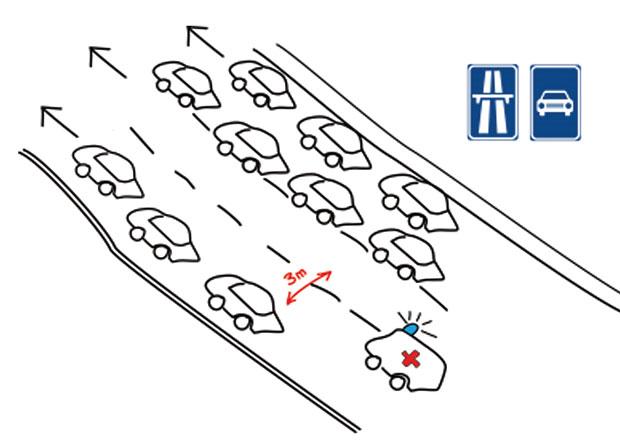 Pravidla pro vytváření průjezdů v kolonách vozidel se asi změní