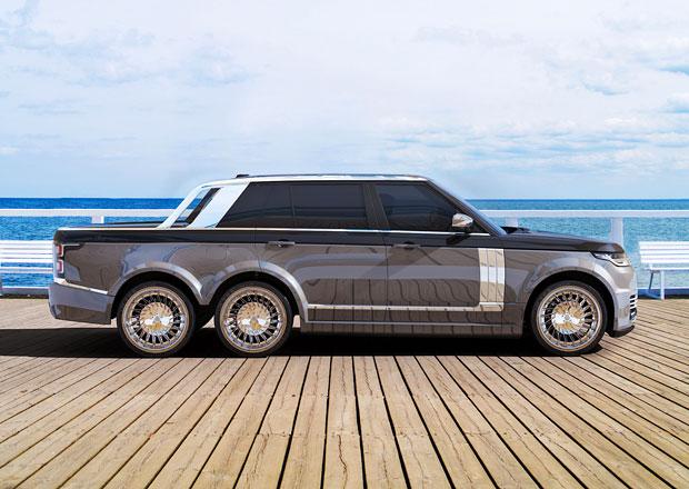 SLT Range Rover 6x6 od T.Fotiadis Design má být luxusní silniční jachta