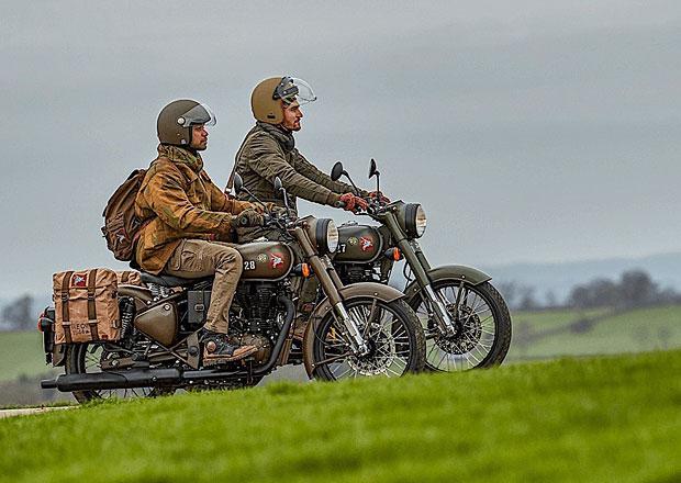 Royal Enfield Classic 500 Pegasus vzdává hold hrdinům 2. světové války