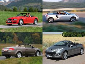 Něco na léto: Pět tipů na kabriolet do 200.000 korun!