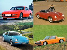 Připomeňte si sportovní Porsche se čtyřválcovými motory ve velké galerii