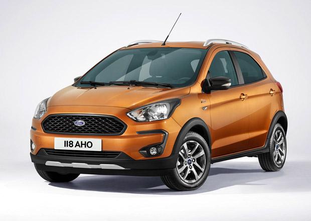 Modernizovaný Ford Ka+ vstupuje na český trh. Kolik dáte za novou terénní verzi Active?