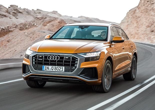 Vyzkoušeli jsme Audi Q8 v netradičním prostředí: Luxusní SUV-kupé na osmou