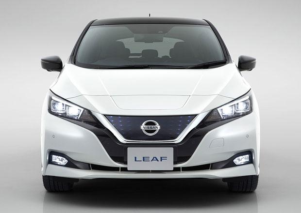 Nissan Leaf E-Plus: Posílený elektromobil dostane větší baterie a 200 koní