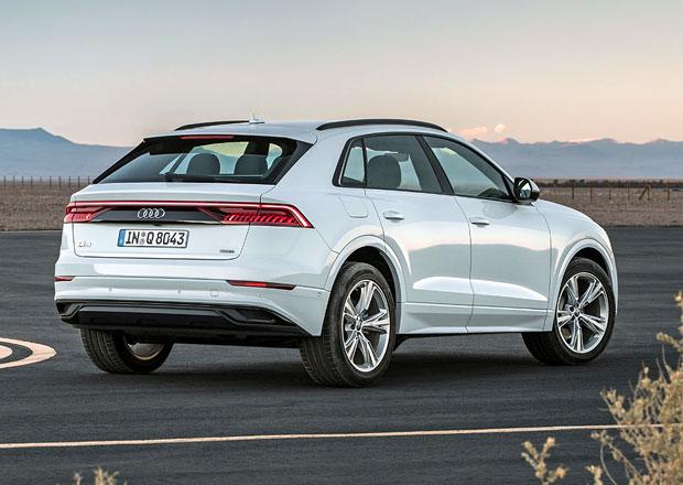 Audi Q8 má první českou cenu. Dva miliony stačí i na silnější diesel