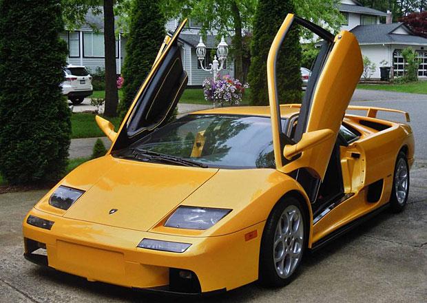Nádherné Lamborghini Diablo můžete mít za třetinu aktuální hodnoty. Kde je háček?