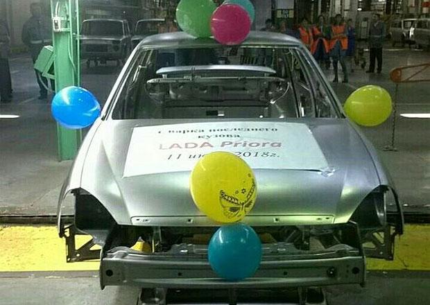 Lada Priora se loučí. Nejstarší sedan značky se přestává vyrábět