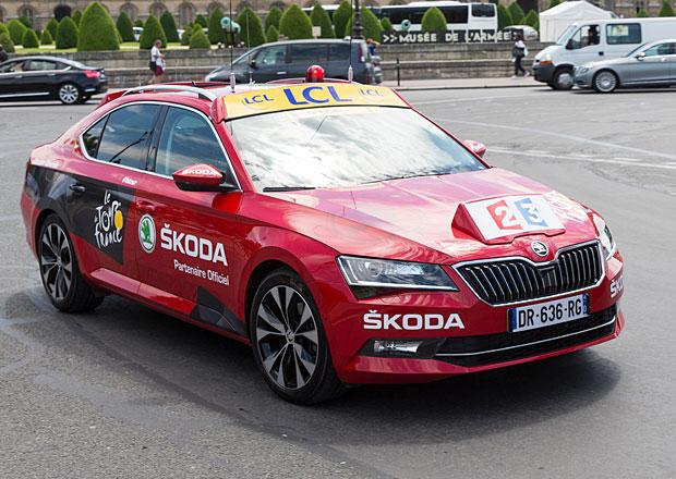 Tour de France: Jaká zajímavá auta jsme mohli vidět na legendárním cyklistickém závodě?