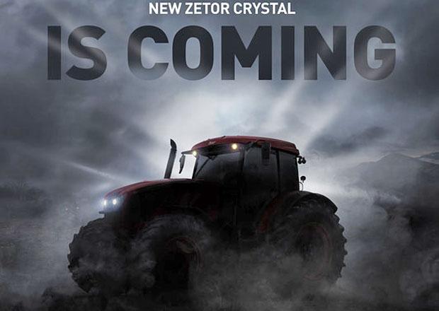 Zetor zve na premiéru nové generace traktoru Crystal