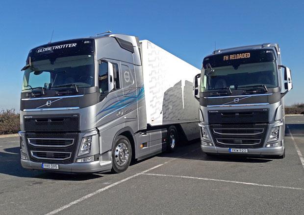 Volvo Trucks FH Reloaded 460 vs. 420: Na spotřebu