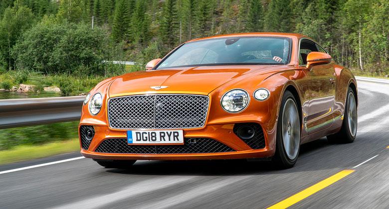 Jízdní dojmy s Bentley Continental GT  Na skok v lepším světě a709d27453