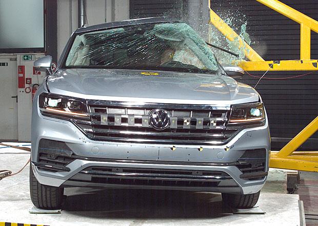 Euro NCAP 2018: Volkswagen Touareg – Pět hvězd i s jistými nedostatky