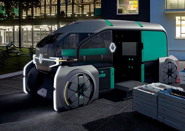 Renault EZ-PRO je vizí budoucnosti lehkých užitkových vozidel pro město