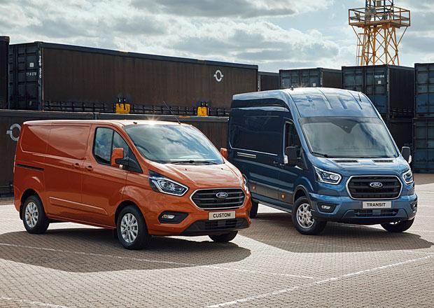 Ford uvádí modernizovaný Transit, sériový Transit Custom PHEV a nový Transit Connect Sport