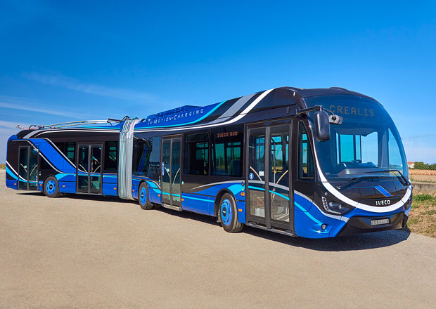 Iveco Bus Crealis získalo ocenění Sustainable Bus of the Year 2019