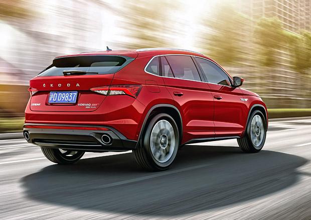 Škoda Kodiaq GT oficiálně! SUV-kupé pro Čínu nabídne dva dvoulitrové motory