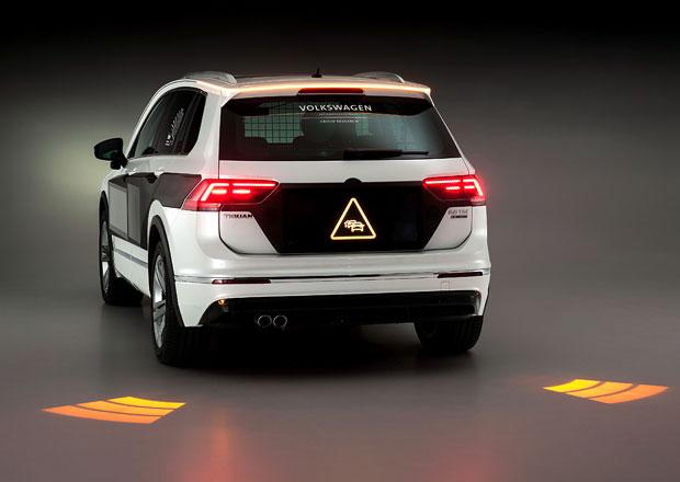 VW vyvíjí moderní LED světla. Budou komunikovat s okolím