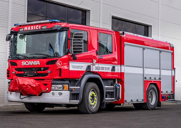 Scania dodala zásahová vozidla pro pražské hasiče