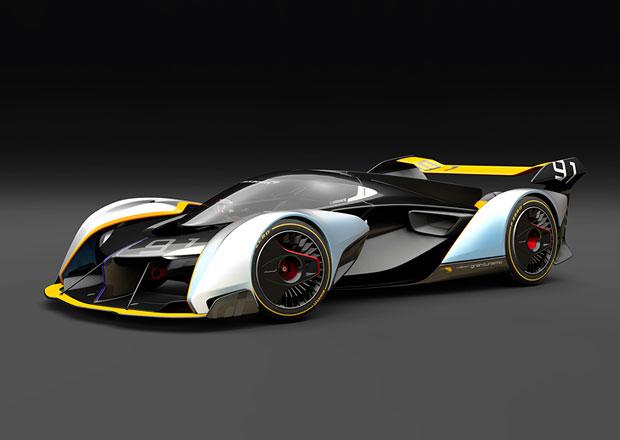 McLaren Ultimate Vision Gran Turismo se vydá ze světa počítačových her na závodní okruhy