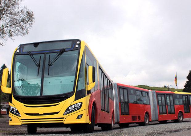 Scania získala rekordní zakázku na plynové autobusy pro Bogotu