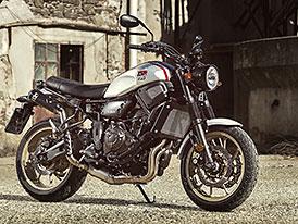 Yamaha XSR700 XTribute je poctou klasickému modelu XT500