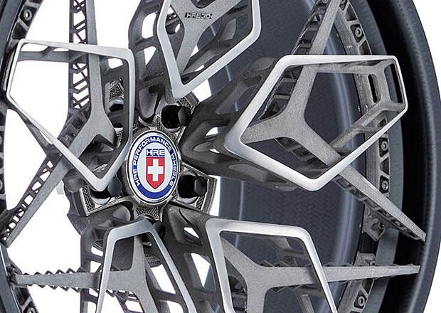 Budoucnost kol aut podle Američanů: Revoluční titanová kola z 3D tiskárny