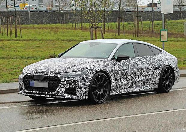 Audi RS7 Sportback zachyceno špiony. Dostane osmiválec s výkonem přes 600 koní