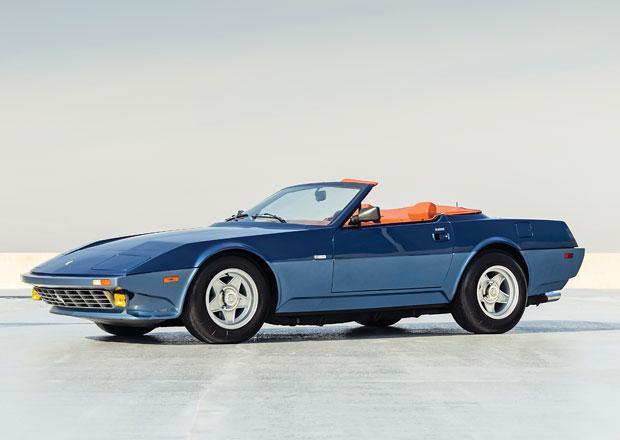 Michelottiho Ferrari Daytona NART Spider je unikátní a dá se koupit