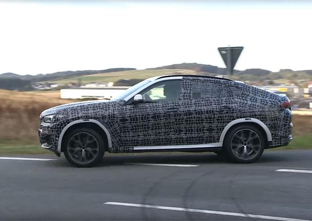 Další nové BMW za rohem. Třetí generace X6 už pilně testuje