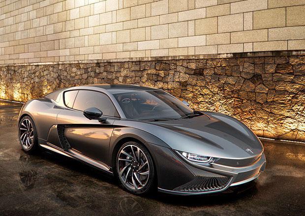 Čínský sportovní elektromobil Qiantu K50 bude stavěn v USA