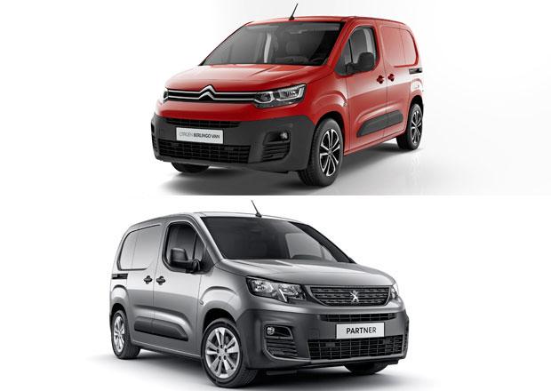 Dodávky Peugeot Partner a Citroën Berlingo Van vstupují na trh. Změří, kolik jste toho naložili