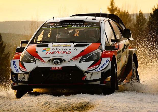 Švédská rallye po 2. etapě: Tänak převzal žezlo a kraluje