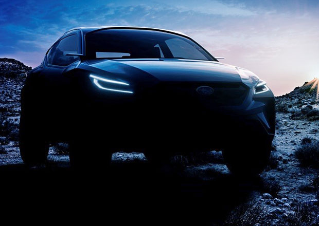 Subaru vábí na koncept Viziv Adrenaline a veze jej do Ženevy