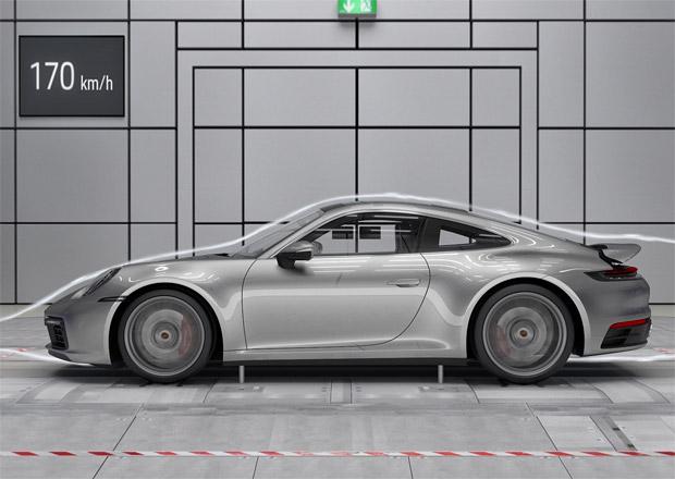 Porsche ukazuje, jak funguje aktivní aerodynamika nové 911