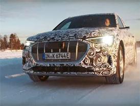 Audi E-Tron Sportback letos vstoupí do sériové produkce. Takto řádí ve Finsku