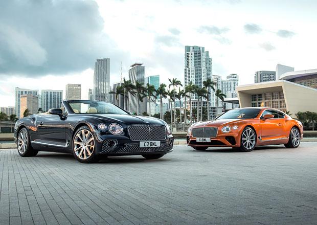 Bentley uvádí osmiválcové modely Continental GT s výkonem 550 koní