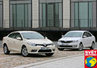 Renault Fluence 1.6 vs. Škoda Rapid 1.2