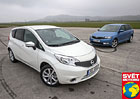 Nissan Note 1.5 dCi vs. Škoda Rapid Spaceback 1.6 TDI