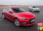 Mazda 3 1.5 Skyactiv G100 vs. VW Golf 1.2 TSI