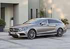 Mercedes-Benz CLS 2015: Motory Euro 6, diody Multibeam a 9G-Tronic