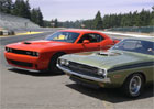 Dodge Challenger: Ročník 1971 vs. nový Hellcat (video)