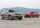 Citroën C4 1.2 PureTech vs. Ford Focus 1.0 EB