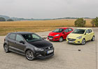 Ford Fiesta 1.0 EcoBoost vs. Opel Corsa 1.0 Turbo vs. VW Polo 1.0 TSI