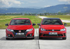 Video: Honda Civic Type R vs. VW Golf GTI Clubsport – test rychlosti a přetížení