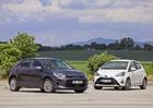 Kia Rio 1.4 CVVT vs Toyota Yaris 1.5 VVT-iE – Atmosférické variace na malé téma