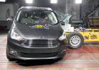 Euro NCAP 2017: Ford Grand C-Max a C-Max - Tři hvězdy pro rodině založená dvojčata