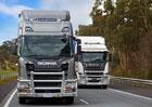 Scania testuje novou generaci těžkých nákladních vozidel pro Austrálii