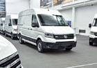 Volkswagen e-Crafter: První elektrické dodávky zamířily k zákazníkům